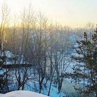 Туманный рассвет 2 :: Александр Подгорный