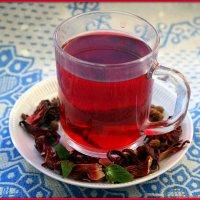Чай каркадэ с липпией сладкой :: Андрей Заломленков