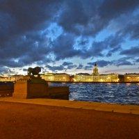 рваные облака над Петербургом :: Елена