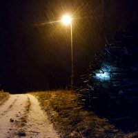 Мокрый снег 1 :: Юрий Бондер