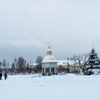 Зимой в Дивеево :: Андрей Холенко