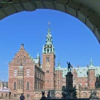 Frederiksborg Slot. Фонтан Нептун :: Mikhail