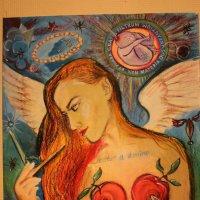 ROVOAM GALLERY Портрет балерины Апполинарии Комаровой :: Роман Деркаченко