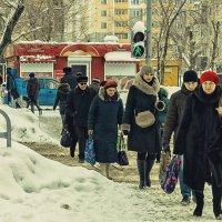 Пешеходы. :: Андрей Лобанов