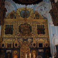 Внутреннее убранство. Церковь Знамения Пресвятой Богородицы в Дубровицах :: Елена Павлова (Смолова)