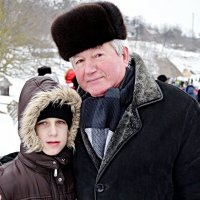 З внуком :: Степан Карачко