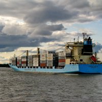 "m/v ""Maersk Venice"". :: Анатолий Кушнер"