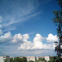 июль, облака :: Nadezhda