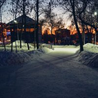 Вечерний парк. :: Света Кондрашова
