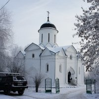 Церковь Успения Пресвятой Богородицы. Город Клин :: Елена Павлова (Смолова)