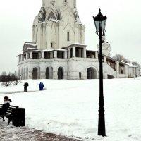 Зима в Коломенском. :: Владимир Болдырев
