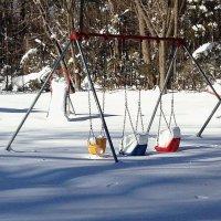 Занесённые снегом... :: Елена