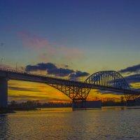 Мост через Енисей :: Сергей Щербинин