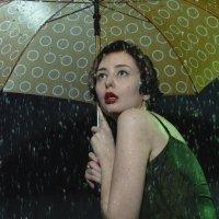 под дождем :: Анна Городничева