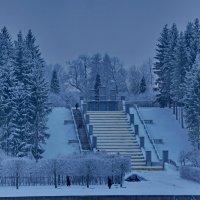 Голубой январь :: Валентина Папилова