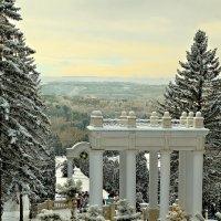 Зимний парк :: Александр Смольников