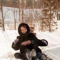 Зимние забавы :: Елена Романова