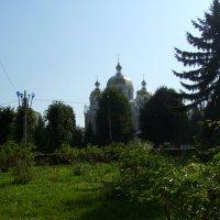 Греко -католический  храм  в  Калуше :: Андрей  Васильевич Коляскин