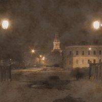 Призрак собаки на мосту :: Андрей Зайцев
