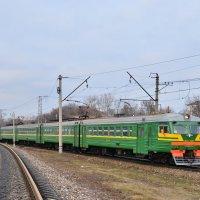 Электропоезд ЭД2Т-0010 :: Денис Змеев