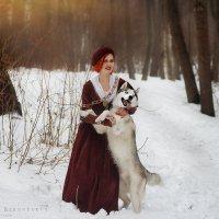 дама с собачкой :: Ярослава Бакуняева