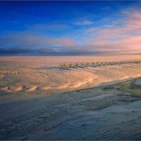 Картинка зимняя, вечерняя... :: Александр Никитинский