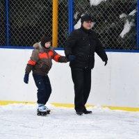 Впервые на льду!! :: Елена