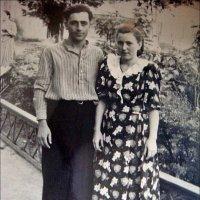 Супруги. 1952 год :: Нина Корешкова