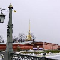Петропавловская крепость. :: Виктор Орехов