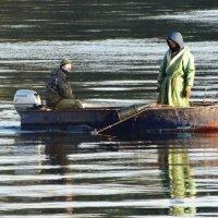 ... с лодки... :: Владимир Гилясев