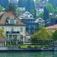 на берегах Цюрихского озера :: Александр Корчемный