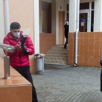 Работаю в условиях карантина)) :: Игорь Вишняков