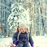 От улыбки зимний день светлее... :: Ирина Цветкова