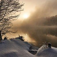 Туманный рассвет :: Михаил Бабаков