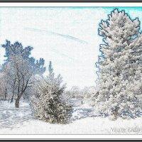 Зимние мотивы :: Лидия (naum.lidiya)