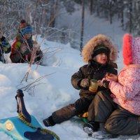 Зимние посиделки :: Анна Дорофеева