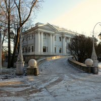 Зимний Елагин дворец. :: Валентина Жукова