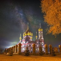 Ясная, морозная ночь (Новокузнецк) :: Павел Сухоребриков