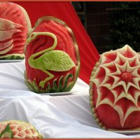 Карвинг - резьба по фруктам :: Андрей Заломленков