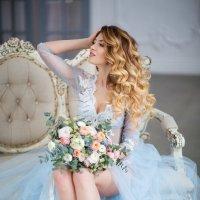 Утро невесты в нежном голубом. :: Юлия Скороходова