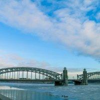 Большеохтинский мост :: Валерий Смирнов