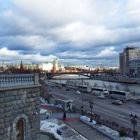 Москва в теплом феврале. :: Лара ***