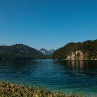 Озеро Альпзее :: Надежда Лаптева