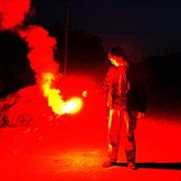 Фальшфейер красного огня :: Dmitry Utkin