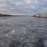 Нева зимой :: Александр Кислицын