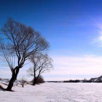 река под льдом :: Вадим Виловатый