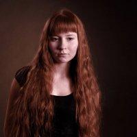 девушка с медными волосами :: Светлана Бродач