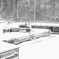 Мини- город зимой (чб) :: Valerii Ivanov
