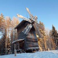 Ветряная мельница конец 19 в. :: Ирина Cемко