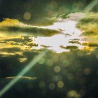 вечерело на М4 играли краски в небесах :: Алексей Бортновский